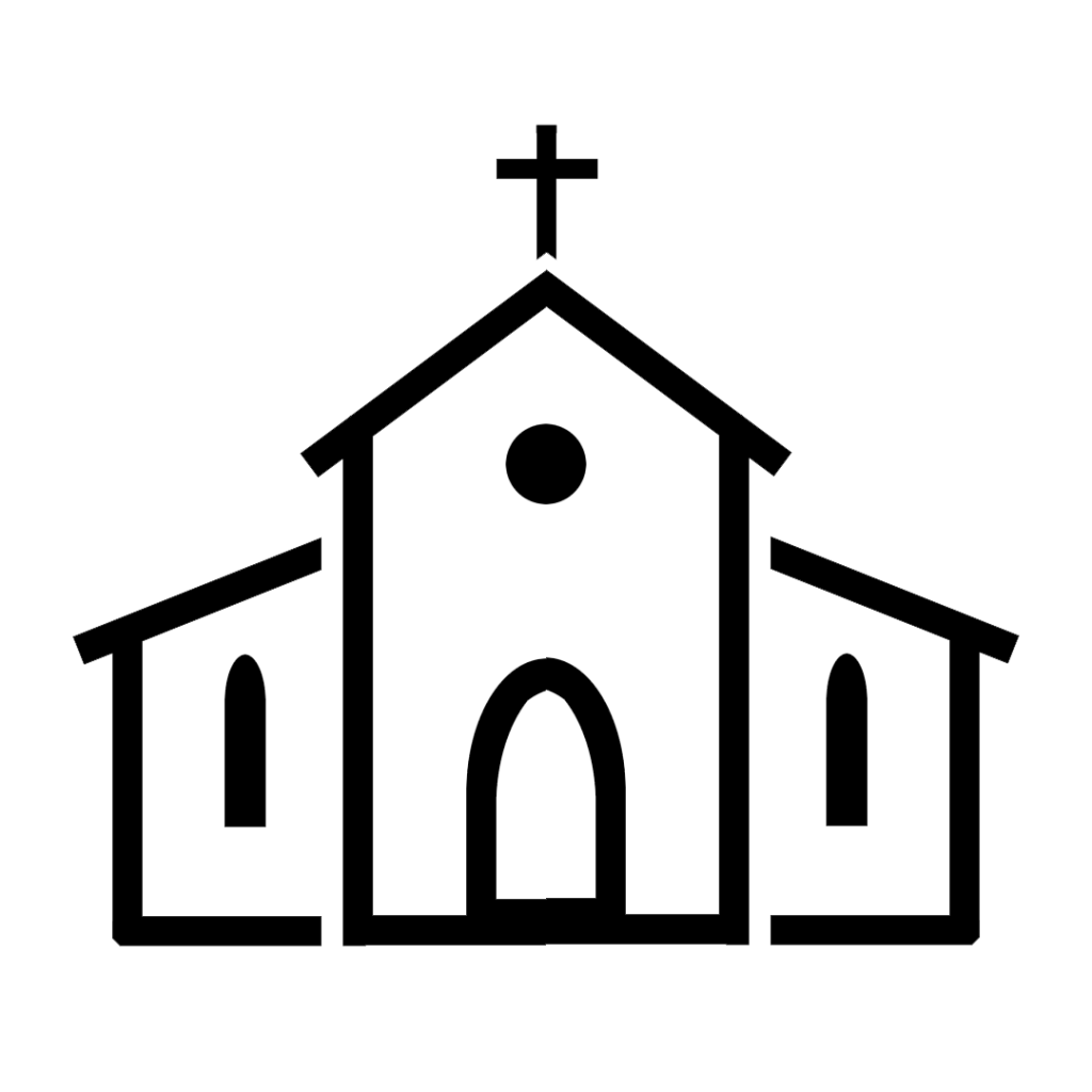kościół - ikona