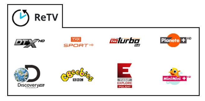 ReTV - wybierz swoje ulubione kanały